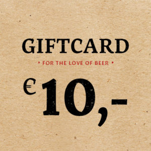 Giftcard €10 -