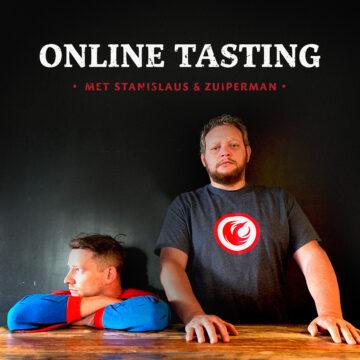 Online Tasting met Stanislaus & Zuiperman